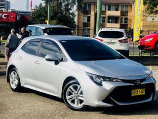 2018 Toyota Corolla Mzea12R Ascent Sport Silver, Chrome 10 Speed Constant Variable Hatchback.