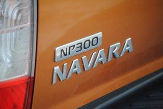 2015 Nissan Navara D23 ST Orange 6 Speed Manual Utility.