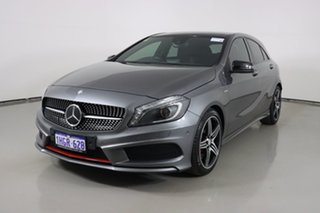 2015 Mercedes-Benz A250 176 MY15 Sport Graphite 7 Speed Automatic Hatchback.