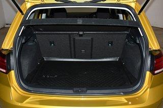 2017 Volkswagen Golf 7.5 MY17 110TSI DSG Comfortline Yellow 7 Speed Sports Automatic Dual Clutch