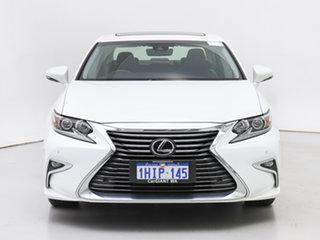 2016 Lexus ES 350 GSV60R MY16 Luxury White 6 Speed Automatic Sedan.