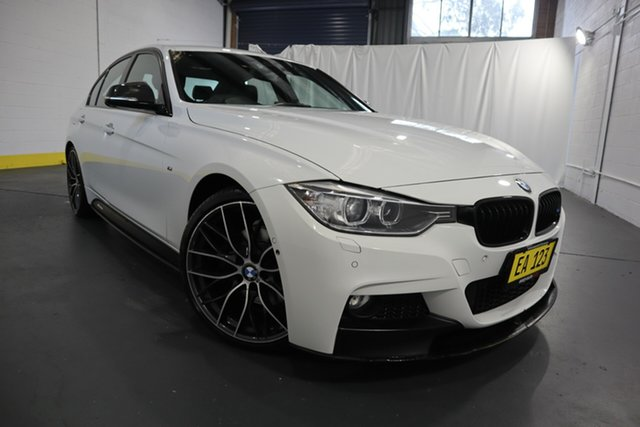 Used BMW 3 Series F30 MY1114 328i M Sport Castle Hill, 2014 BMW 3 Series F30 MY1114 328i M Sport White 8 Speed Sports Automatic Sedan