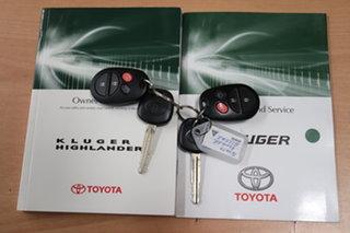 2012 Toyota Kluger GSU40R MY12 Altitude 2WD White 5 Speed Sports Automatic Wagon