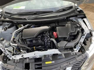 2016 Nissan Qashqai J11 ST Silver Continuous Variable Wagon
