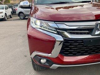 2017 Mitsubishi Pajero Sport QE MY17 GLX Red 8 Speed Sports Automatic Wagon