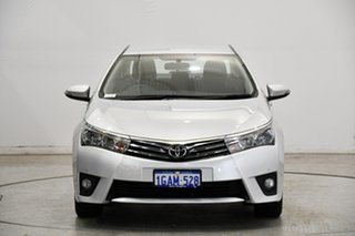 2016 Toyota Corolla ZRE172R SX S-CVT Silver 7 Speed Constant Variable Sedan.