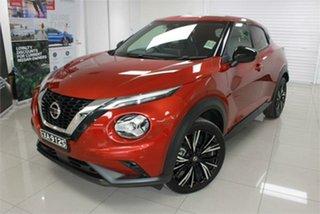 2020 Nissan Juke F16 TI Fuji Sunset Red 7 Speed Sports Automatic Dual Clutch Hatchback.