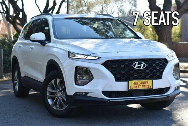 Used Hyundai Santa Fe TM MY19 Active Melrose Park, 2019 Hyundai Santa Fe TM MY19 Active White 6 Speed Sports Automatic Wagon