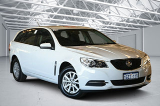 2017 Holden Commodore VF II MY17 Evoke Heron White 6 Speed Automatic Sportswagon.