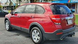 2014 Holden Captiva CG MY14 7 LS Red 6 Speed Sports Automatic Wagon.
