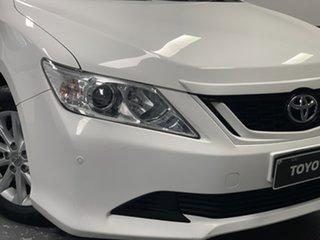 2016 Toyota Aurion GSV50R AT-X Diamond White 6 Speed Sports Automatic Sedan.