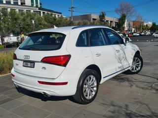 2015 Audi Q5 8R MY15 TFSI Tiptronic Quattro White 8 Speed Sports Automatic Wagon