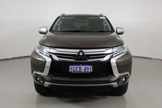 2016 Mitsubishi Pajero Sport MY16 Exceed (4x4) 7 Seat Bronze 8 Speed Automatic Wagon.