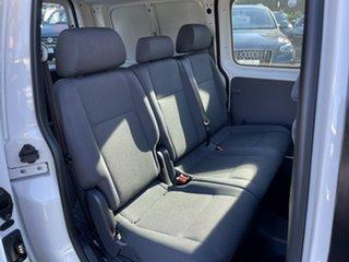 2015 Volkswagen Caddy 2KN MY15 TDI250 BlueMOTION Crewvan Maxi DSG White 7 Speed.