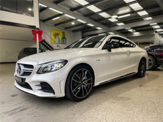 2021 Mercedes-Benz C-Class C205 C43 AMG White Sports Automatic Coupe