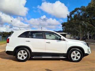 2014 Kia Sorento XM MY14 SI White 6 Speed Sports Automatic Wagon.