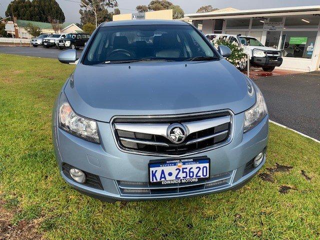 Used Holden Cruze JG CDX Katanning, Holden Cruze JG CDX Blue 6 Speed Automatic Sedan