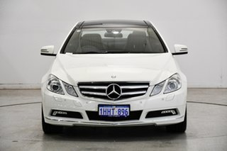 2010 Mercedes-Benz E-Class C207 E250 CDI BlueEFFICIENCY Elegance White 5 Speed Sports Automatic.