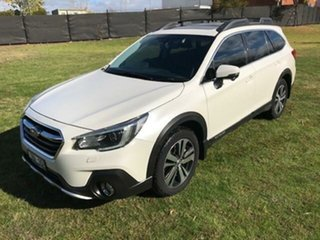 2018 Subaru Outback MY18 2.0D Premium AWD White Continuous Variable Wagon.