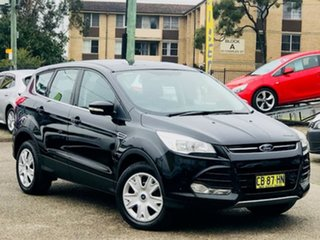 2014 Ford Kuga TF Ambiente AWD Black 6 Speed Sports Automatic Wagon.