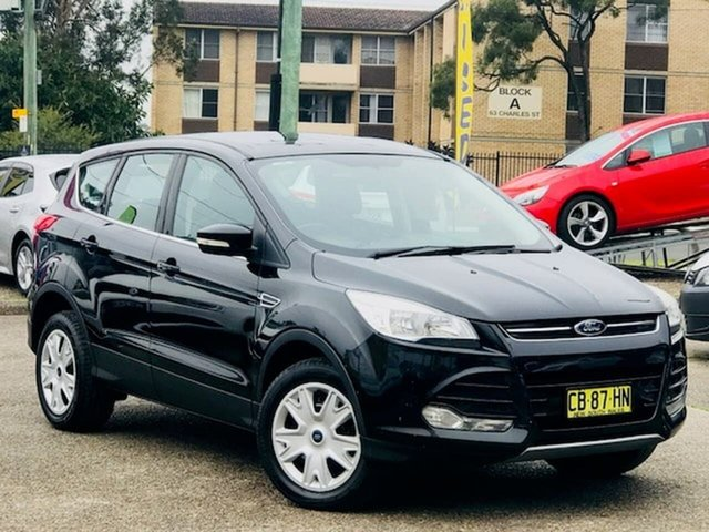Used Ford Kuga TF Ambiente AWD Liverpool, 2014 Ford Kuga TF Ambiente AWD Black 6 Speed Sports Automatic Wagon