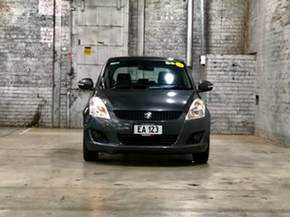 2013 Suzuki Swift FZ GLX Grey 5 Speed Manual Hatchback.