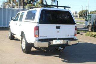 2013 Nissan Navara D22 Series 5 ST-R (4x4) White 5 Speed Manual Dual Cab Pick-up.