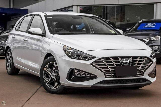 New Hyundai i30 PD.V4 MY21 Oakleigh, 2021 Hyundai i30 PD.V4 MY21 White 6 Speed Manual Hatchback