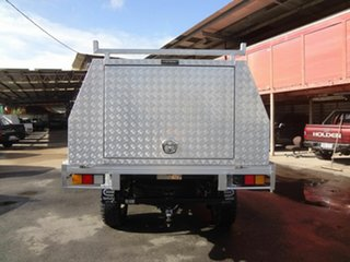 2014 Toyota Hilux KUN26R MY12 SR (4x4) Silver 4 Speed Automatic Cab Chassis