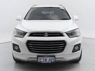 2016 Holden Captiva CG MY16 7 LTZ (AWD) White 6 Speed Automatic Wagon.