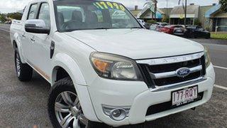 2011 Ford Ranger PK Wildtrak White 5 Speed Manual 4x4 Utility