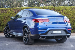 2021 Mercedes-Benz GLC-Class C253 801MY GLC300 Coupe 9G-Tronic 4MATIC Brilliant Blue 9 Speed.