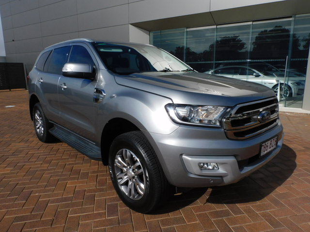 Used Ford Everest UA Trend Toowoomba, 2017 Ford Everest UA Trend Silver 6 Speed Sports Automatic SUV