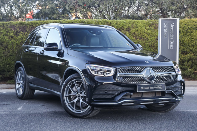 Certified Pre-Owned Mercedes-Benz GLC-Class X253 800+050MY GLC200 9G-Tronic Mulgrave, 2020 Mercedes-Benz GLC-Class X253 800+050MY GLC200 9G-Tronic Obsidian Black 9 Speed Sports Automatic