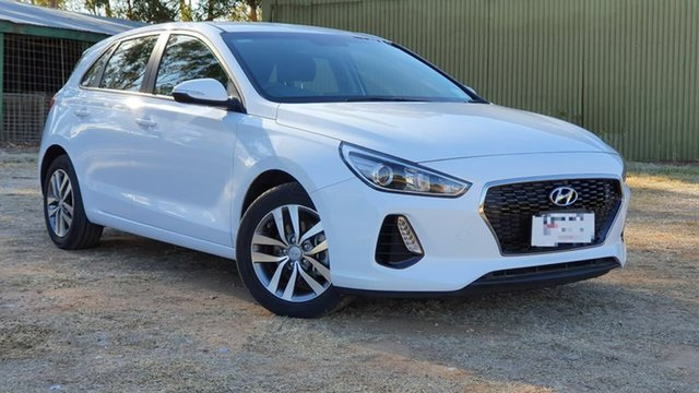Used Hyundai i30 PD MY18 Active D-CT Clare, 2018 Hyundai i30 PD MY18 Active D-CT White 7 Speed Sports Automatic Dual Clutch Hatchback