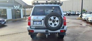 2006 Nissan Patrol GU IV MY05 ST Silver 5 Speed Manual Wagon