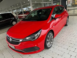 2017 Holden Astra RS-V Red Sports Automatic Hatchback.