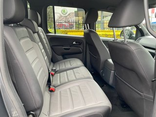 2019 Volkswagen Amarok 2H MY19 TDI580 4MOTION Perm Highline Black Grey 8 Speed Automatic Utility