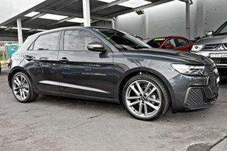 2019 Audi A1 GB MY20 35 TFSI Sportback S Tronic Grey 7 Speed Sports Automatic Dual Clutch Hatchback.