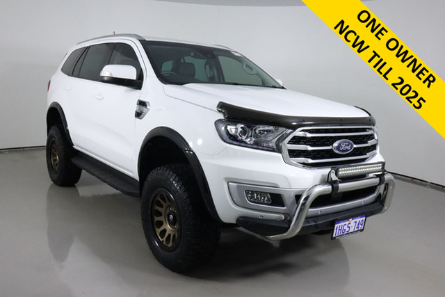 Used Ford Everest UA II MY19.75 Trend (4WD 7 Seat) Bentley, 2019 Ford Everest UA II MY19.75 Trend (4WD 7 Seat) White 6 Speed Automatic SUV