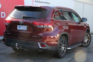 2018 Toyota Kluger GSU55R Grande AWD Merlot Red 8 Speed Sports Automatic Wagon.