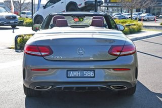 2016 Mercedes-Benz C-Class A205 C200 9G-Tronic Grey 9 Speed Sports Automatic Cabriolet