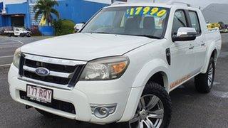 2011 Ford Ranger PK Wildtrak Crew Cab White 5 Speed Manual Utility.