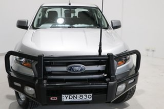 2017 Ford Ranger PX MkII XLS Double Cab Silver 6 Speed Manual Utility