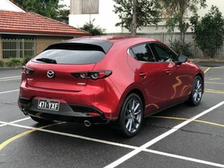 2019 Mazda 3 BP2H7A G20 SKYACTIV-Drive Touring Red 6 Speed Sports Automatic Hatchback.