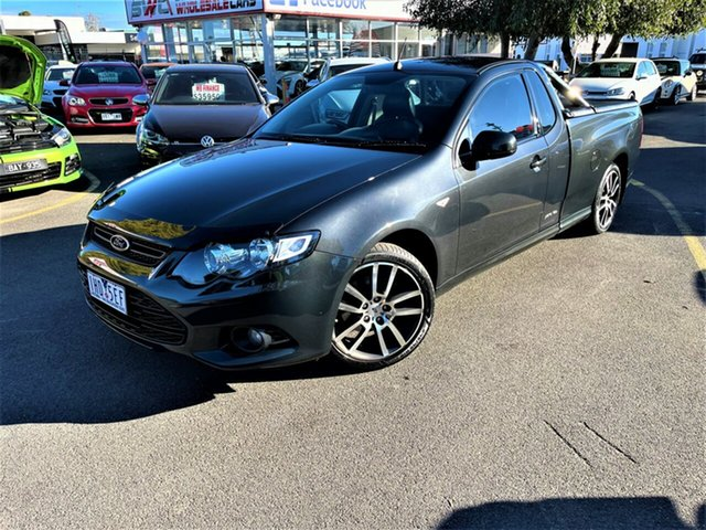 Used Ford Falcon FG MkII XR6 Ute Super Cab EcoLPi Seaford, 2013 Ford Falcon FG MkII XR6 Ute Super Cab EcoLPi Grey 6 Speed Sports Automatic Utility