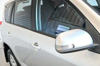 2011 Toyota RAV4 ACA38R MY11 CV 4x2 Silver 4 Speed Automatic Wagon.