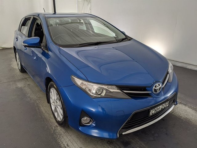 Used Toyota Corolla ZRE182R Ascent Sport Maryville, 2013 Toyota Corolla ZRE182R Ascent Sport Blue 6 Speed Manual Hatchback