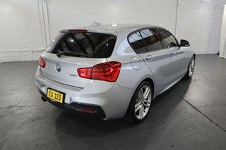 2015 BMW 1 Series F20 LCI 125i M Sport Silver 8 Speed Sports Automatic Hatchback