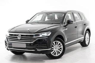 2020 Volkswagen Touareg CR MY20 190TDI Tiptronic 4MOTION Black 8 Speed Sports Automatic Wagon.